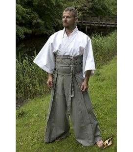 Pantalones Samurai Gris
