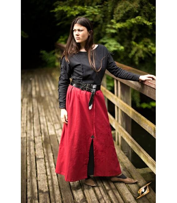 Falda de Batalla Roja