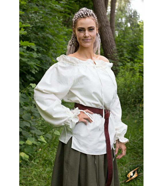 Blusa de Pirata-Blanca