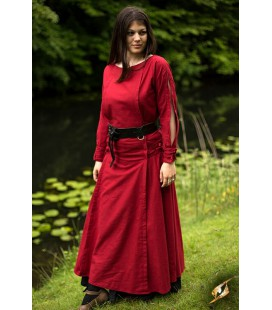 Priestess Dress - Dark Red