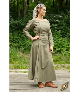 Vestido Medieval-Beige