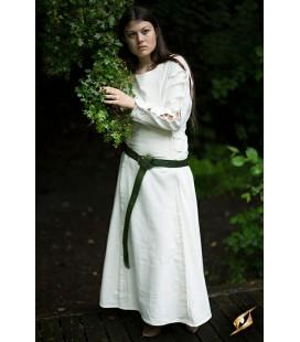 Vestido Medieval-Blanco