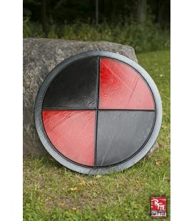 Escudo Ready For Battle - Rojo y Negro