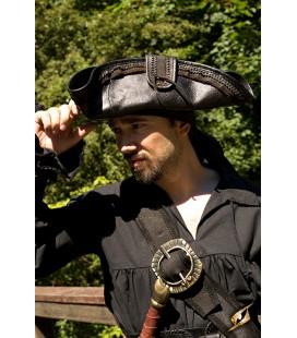 Sombrero Pirata - Negro