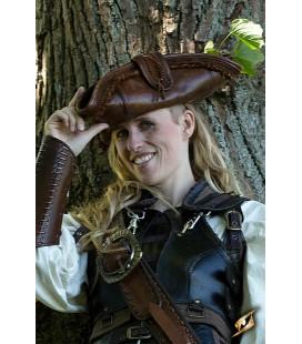 Sombrero Pirata - Marrón