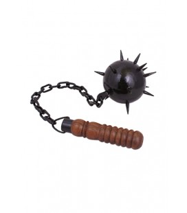 Morning star, one ball, short grip with chain