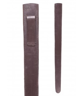 brown leather scabbard for viking sword 3