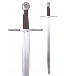Espada de una mano con pomo plano redondo roma funcional, SK-C