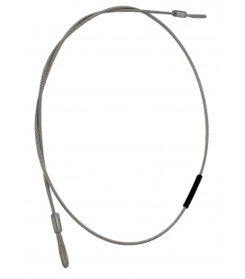 cable de acero inoxidable para LARP Ballesta. 18""