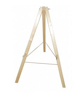 soporte para objetivo, madera