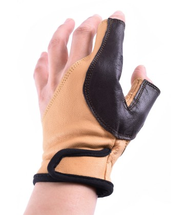 Archer's glove, for right-handed, size M