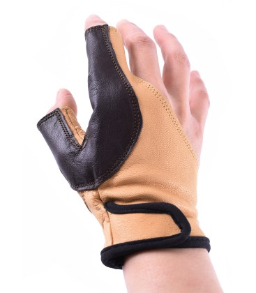 Archer's glove, for left-handed, size M