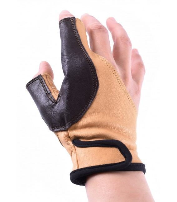 Archer's glove, for left-handed, size L