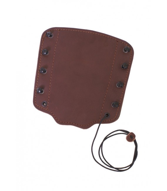 Armguard, brown leather