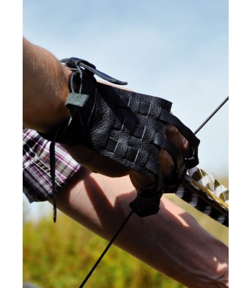 Shooting glove Traditional S-M