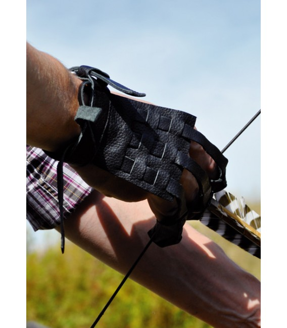 Shooting glove Traditional L-XL