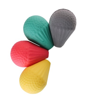 Cushioned Safety Head for LARP Arrow, various colours
