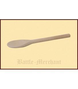 Spoon, small, beech wood, approx. 13 cm