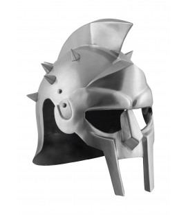 Gladiator Maximus helmet with spikes, 1,6 mm steel, with leather liner