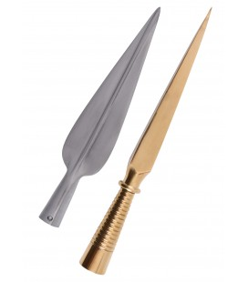 Spearhead and Butt Spike for Greek Dory