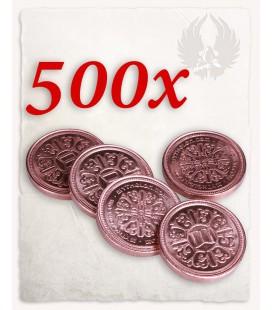 Moneda de Cobre para LARP set de 500