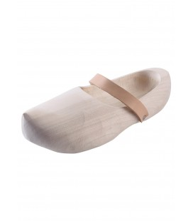 Wooden Shoes with leather straps