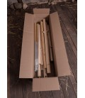 Set of Wooden Poles for Knight Tent Herwald, 5 m