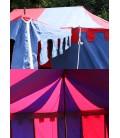 Knights Tent Burgund, 3 x 5 m