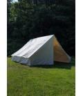Army Tent Anthonius, 4 x 4 m, 425 gsm, natural colour