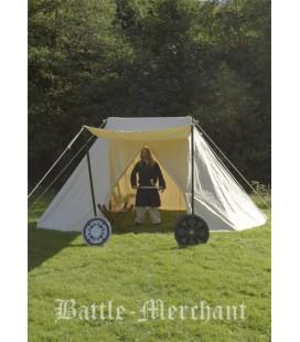 Saxon Tent Jorvik, 4 x 6 m, 425 gsm, natural colour