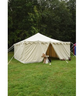 Medieval Knight tent Herold 5 x 5 m, 425 gsm