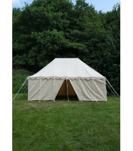 Knights Tent, 6 x 4 m, 425 gms, natural coloured