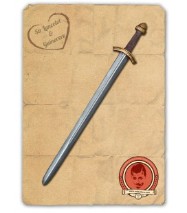 Torge Longsword Silver and Brass
