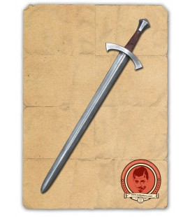 Espada Medieval William Bronce / Plata