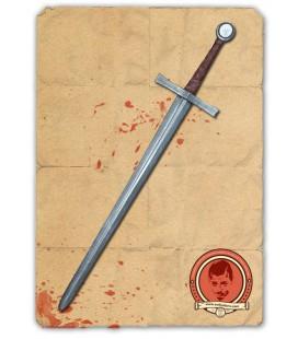Espada Bastarda Hagen Plata / Bronce