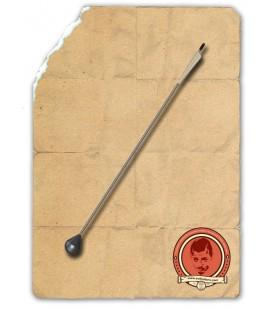 Flecha Cabeza Redonda Blanca y Fluroescente