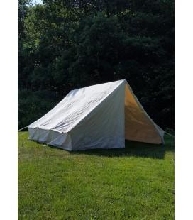 Roman Army Tent Anthonius, 3 x 3 m, 350 gsm, natural colour