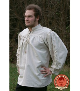 Camisa Medieval Uriens Natural