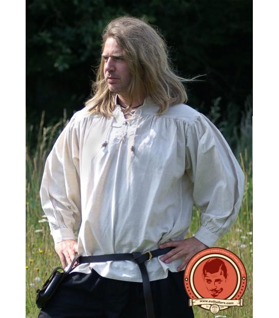 Camisa de Espadachín Blanca Eviltailors