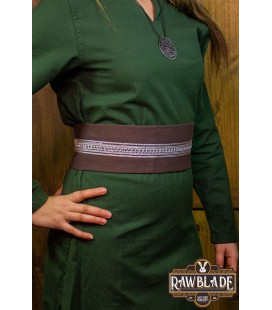 Jeanne cinturón de tela - Brown