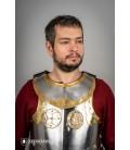 Gorjal Hussar con accesorio de Latón
