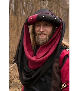 Turban Jafar - Epic Black/Dark Red