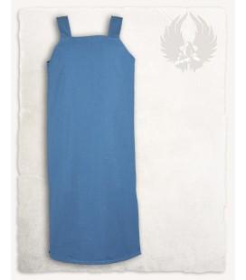 Esther Vestido Delantal Lona - Azul