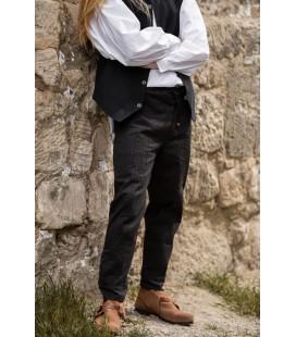 Pantalones con costura ornamental Sean