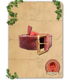 Cinturón Medieval Rojo