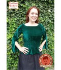 Tapered gothic blouse Miriam