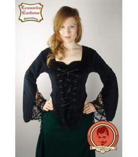 Velveteen blouse Linda