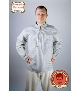Camisa medieval rayada Adán