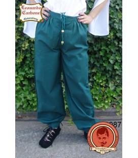 Pantalones de algodón medieval clásico Rüdiger