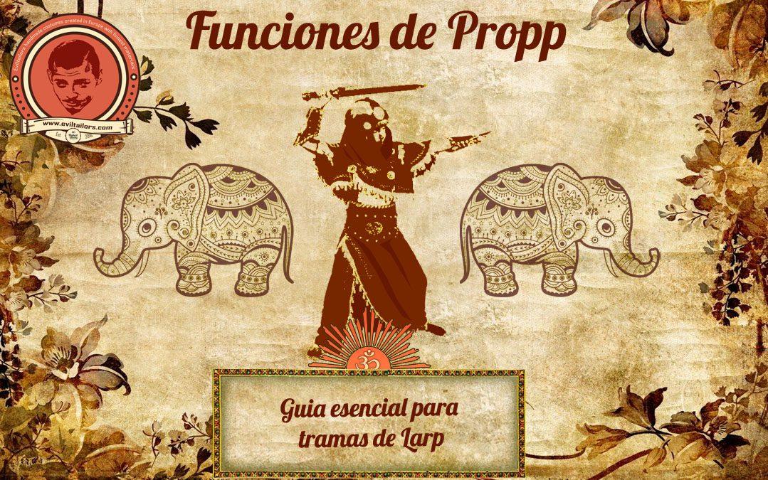 Funciones de Propp, una ayuda esencial para el LARP